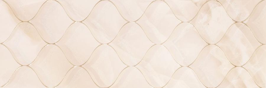 Декор плочка за баня SELENE ARABESQUE LIGHT BRILLO 30x90