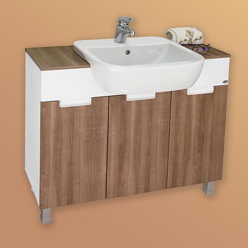 снимка на Мебел за баня  долен шкаф МАНХАТЪН