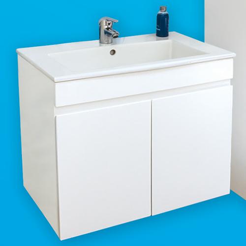 снимка на Мебел за баня – долен шкаф Линеа с врати (различни размери)