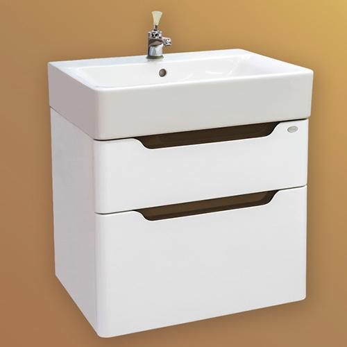 снимка на Мебел за баня – долен шкаф Рич с чекмеджета