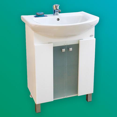 снимка на Мебел за баня – долен шкаф Либра  с врати