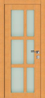снимка на стилна остъклена врата