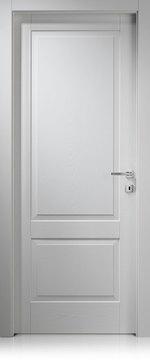 снимка на интериорна врата лъскава по проект