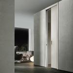 снимка на интериорна врата гланц по проект