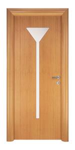 снимка на изискана производство на интериорна врата