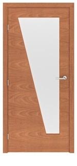 снимка на стилна производство на интериорна врата
