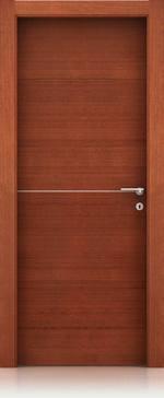 интериорна врата с права каса mdf