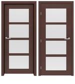 снимка на стилна интериорна врата София