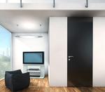 снимка на елегантна интериорна врата с пълнеж стиропор