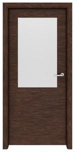 снимка на интериорна врата по проект МДФ