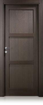 снимка на mdf интериорна врата с масивна каса