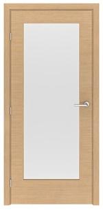 снимка на нестандартна интериорна врата по каталог