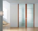 снимка на портална интериорна врата боя по проект
