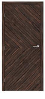 снимка на фурнирована интериорна врата по каталог