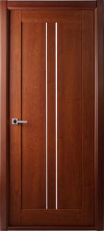 снимка на изискана фурнирована интериорна врата