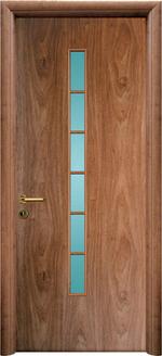 снимка на интериорна врата с технически фурнир София