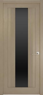 снимка на изискана интериорна врата със стъкло по размер