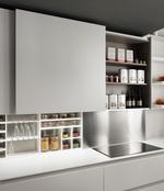 стилни луксозни кухни с чекмеджета по проект София