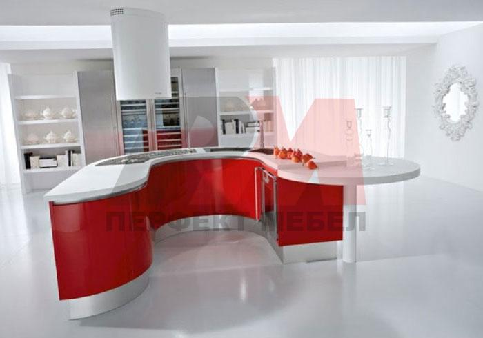 обли кухни с плот технически камък по поръчка