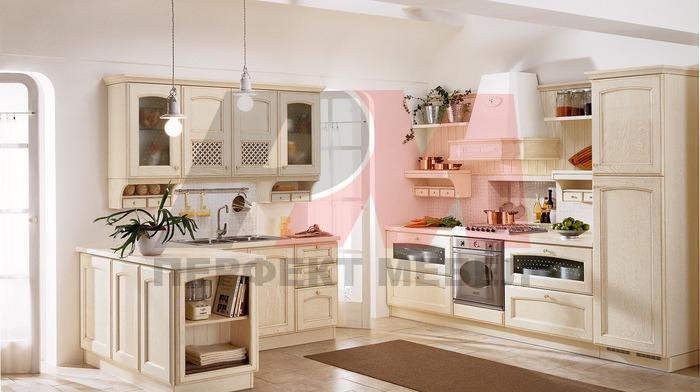 дизайни на ретро стил кухни по поръчка