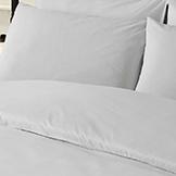 снимка на Спално бельо от бял ранфорс