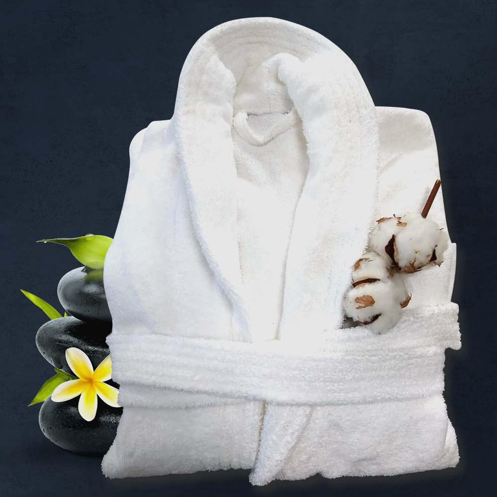 Бял халат за баня